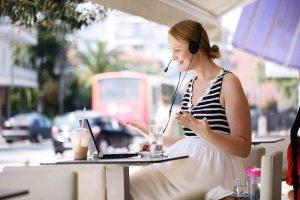 learn online via Skype
