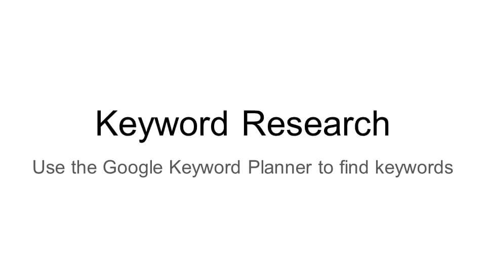 Adwords Search Network
